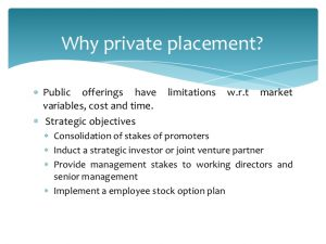 List of Private Placement Investors